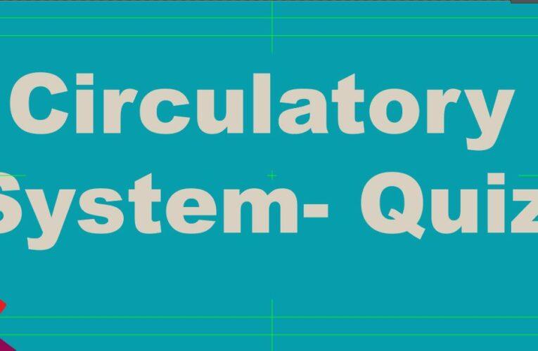 Circulatory System Quiz | Free mcq tamilsolution.com