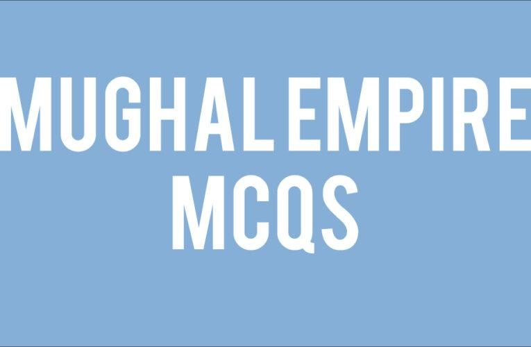 mughal empire tnpsc