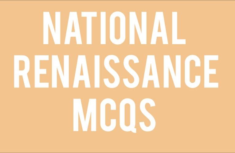 national renaissance tnpsc