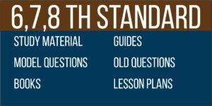6 7 8 study materials