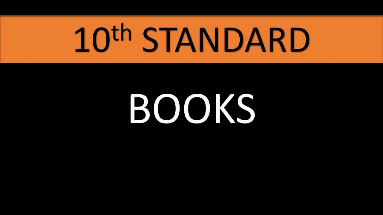 10TH STANDARD BOOKS IN PDF