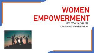 PPT ON WOMEN EMPOWERMENT
