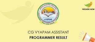 CG Vyapam CAP 2019