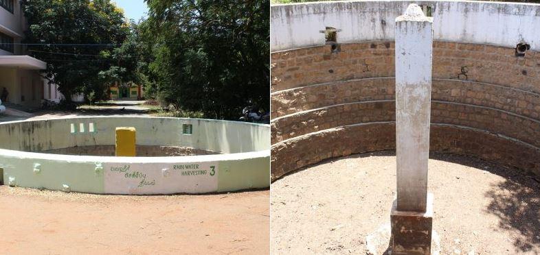 Coimbatore Institute of Technology rain water harvesting