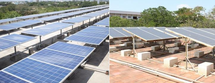 Coimbatore Institute of Technology solar power plant