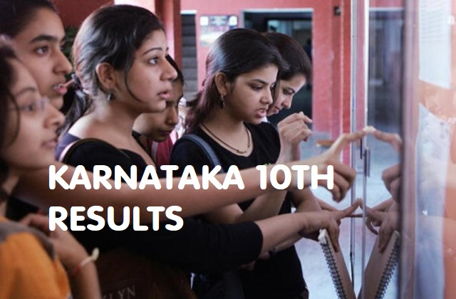 karnataka sslc today result