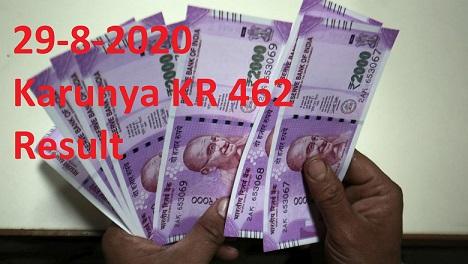 result live from bakery junction 25 8 2020 29 8 2020 Karunya KR 462 Result