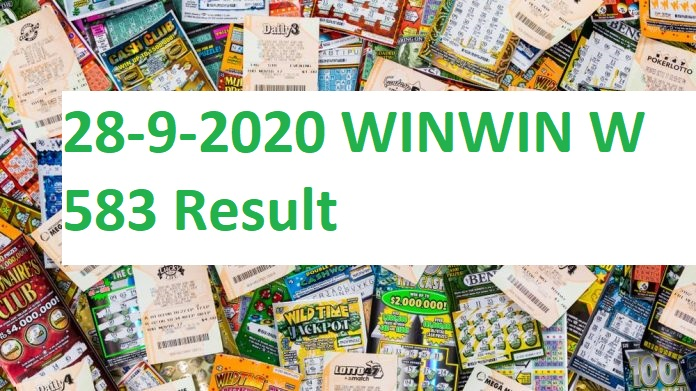 28-9-2020 WINWIN W 583 Result kerala lottery results today