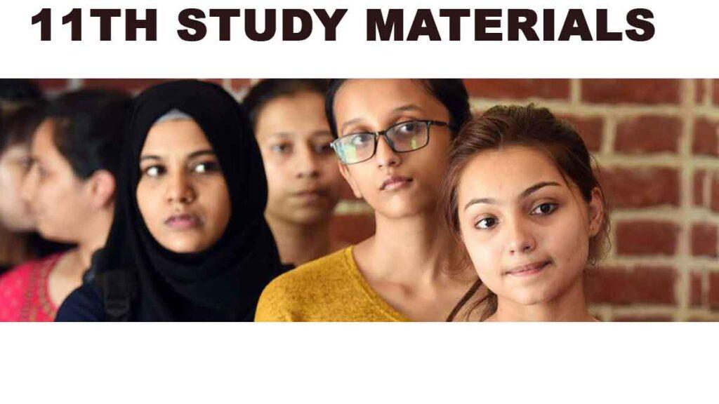 11TH STUDY MATERIALS