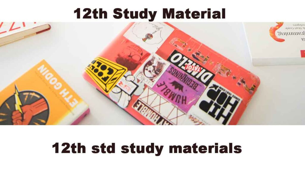 12th Study materials