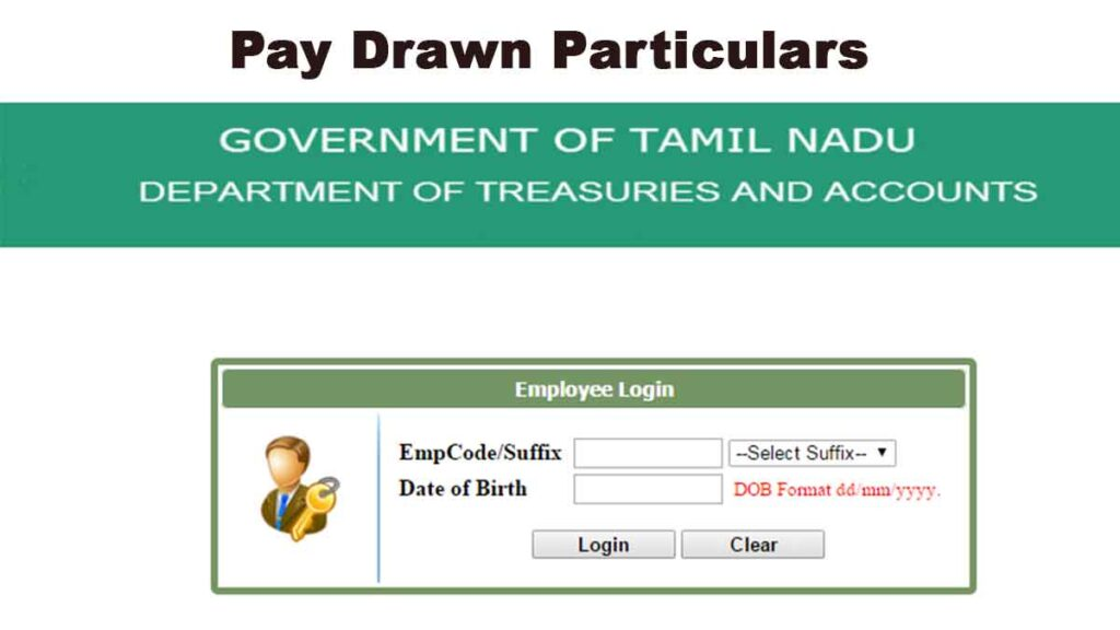 Pay Drawn Particulars
