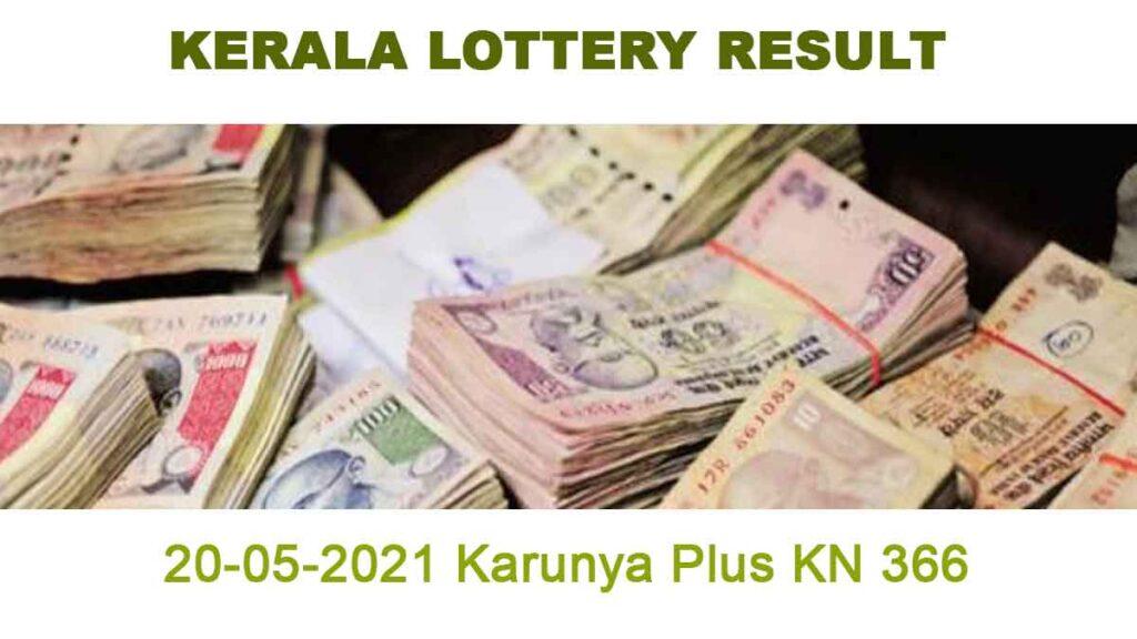 20-05-2021 Karunya Plus KN 367 Result