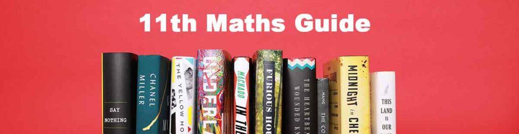 11th Maths Guide
